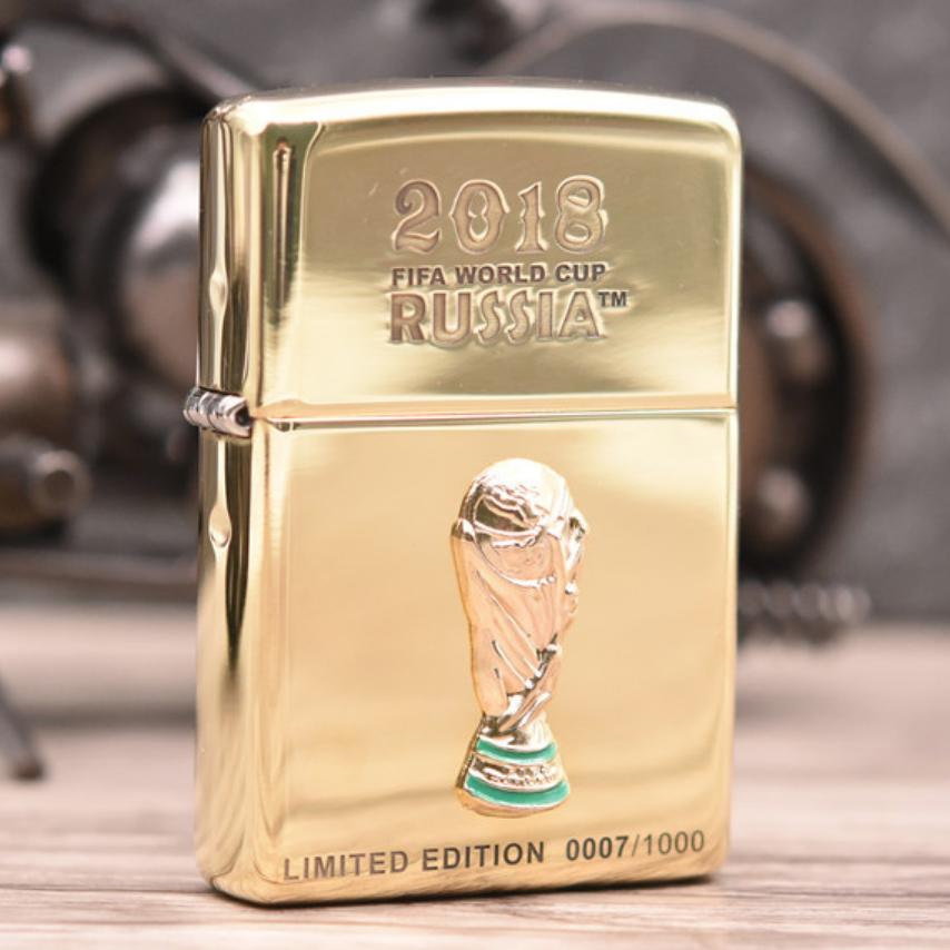 Zippo world cup 2018 giới hạn 1000 con chính hãng Mỹ - 2