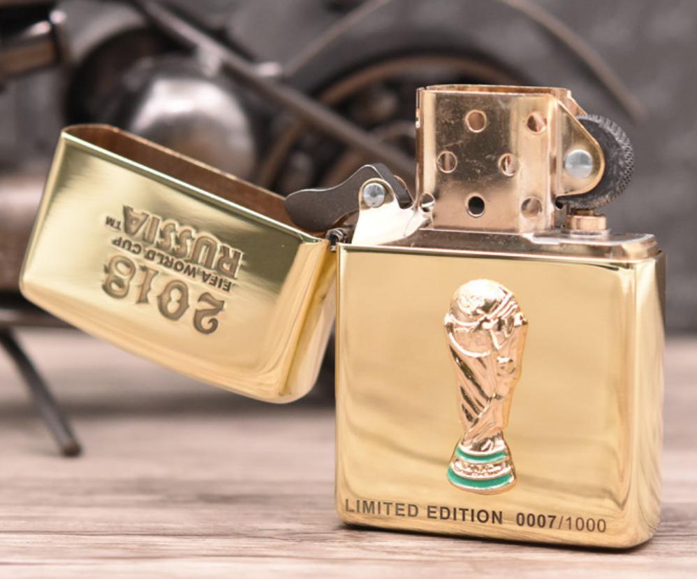 Zippo world cup 2018 giới hạn 1000 con