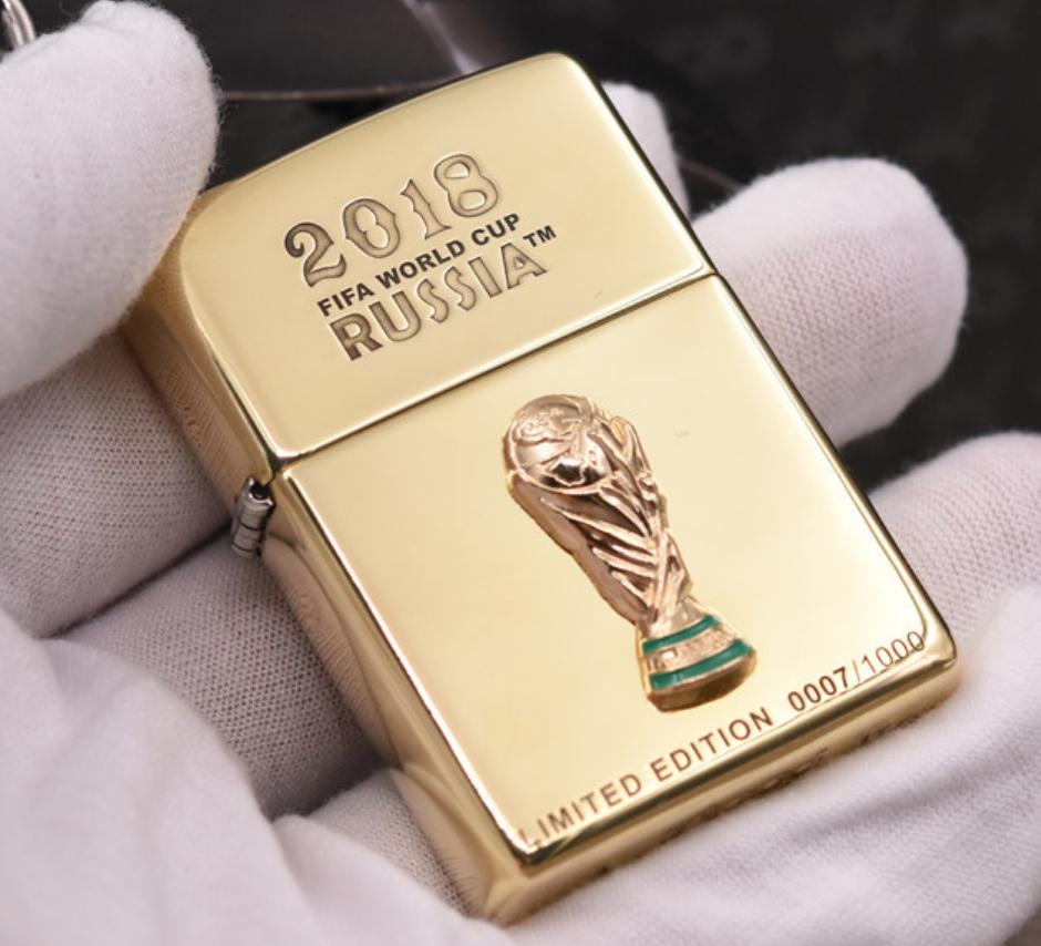 Zippo world cup 2018 giới hạn 1000 con chính hãng Mỹ - 8