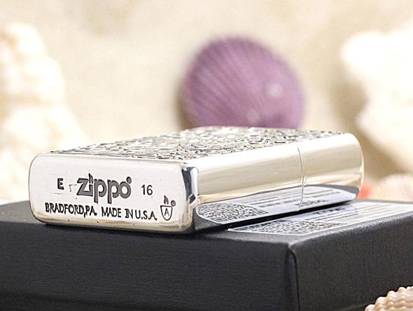 zippo hoa văn