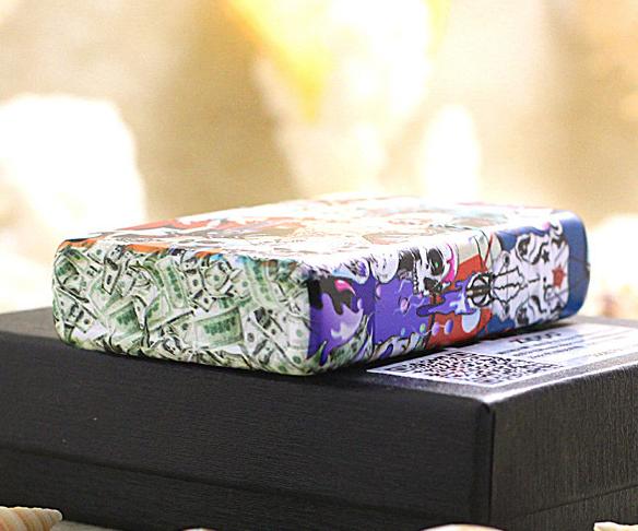 Zippo tiền đô hình 6 mặt
