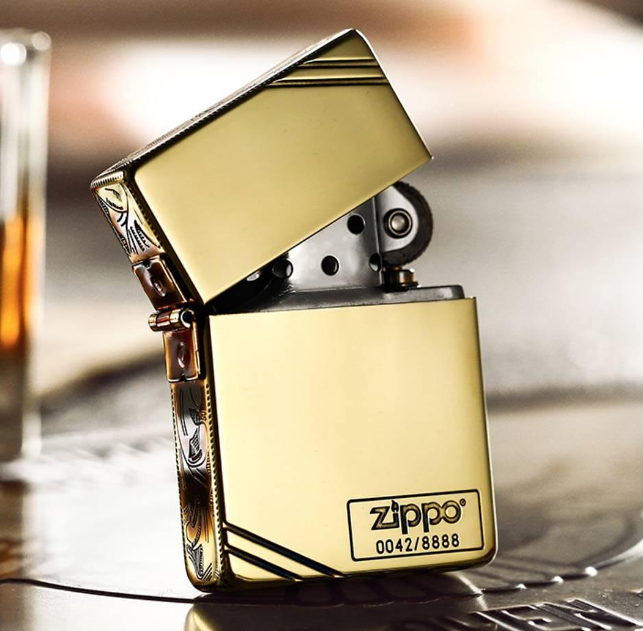 Zippo hoa văn giới hạn 8888 con made in usa