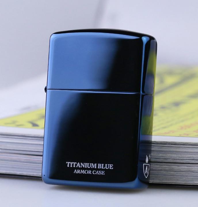 Zippo Titanium Blue Armor