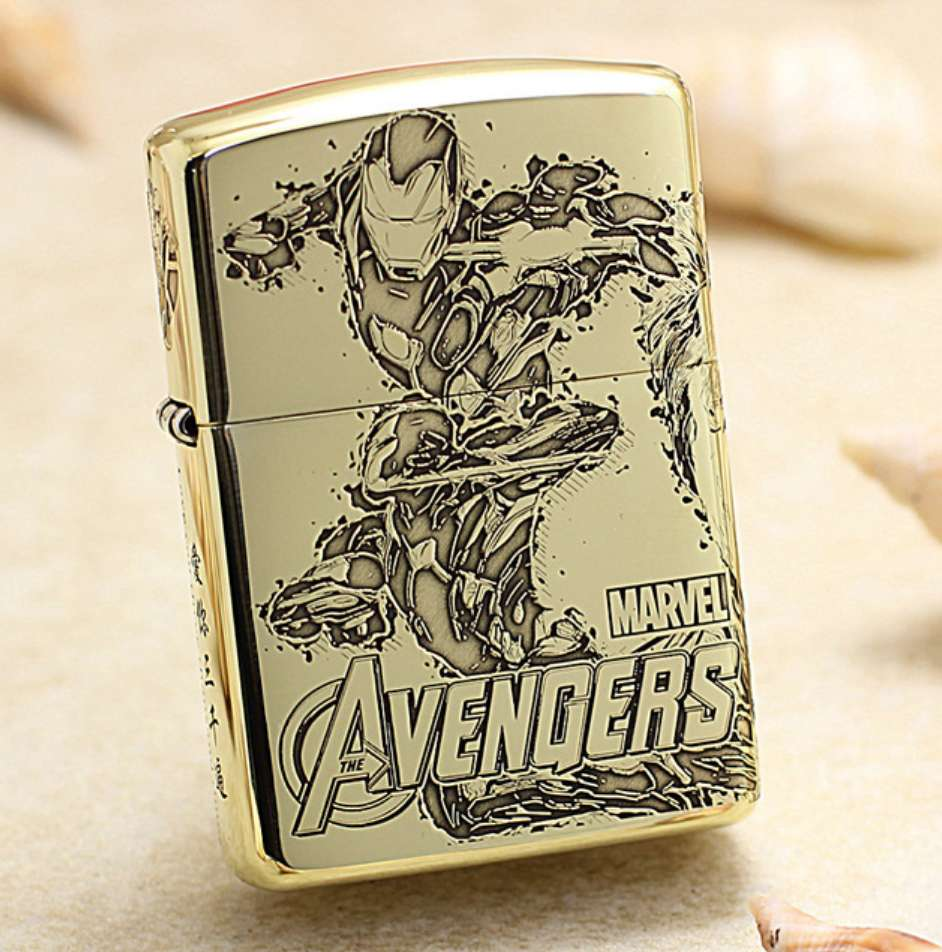 bật lửa Zippo Tony Stark Iron Man