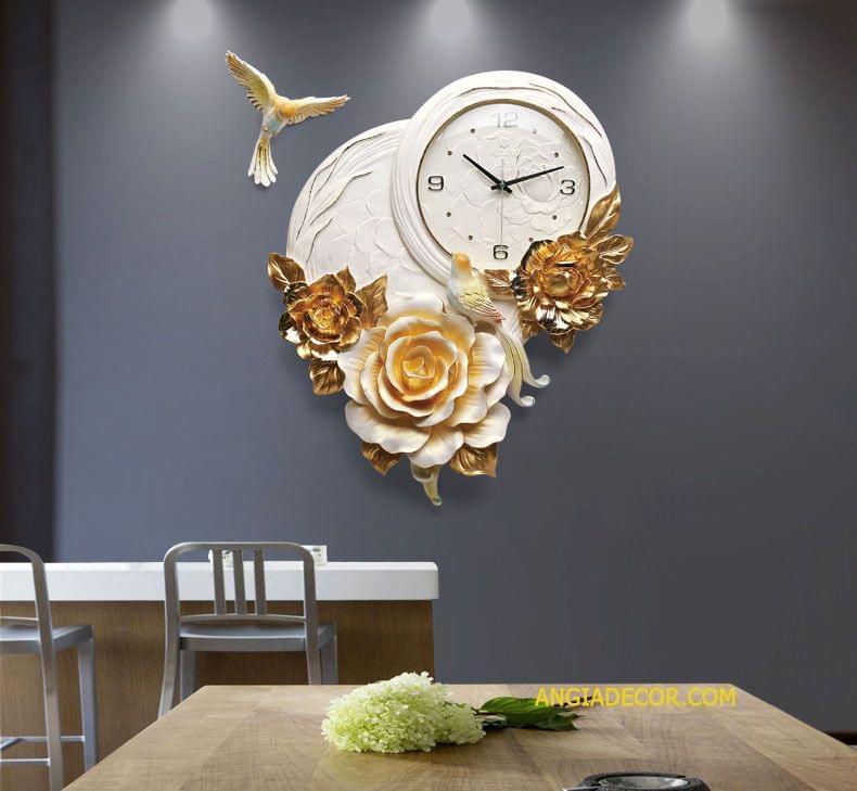 đồng hồ treo tường spa