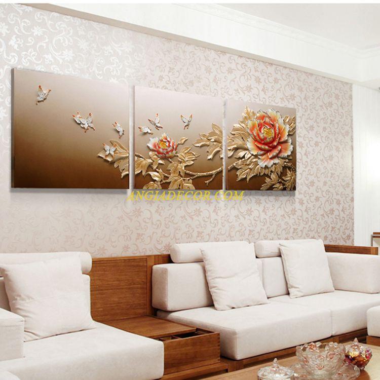 tranh hoa mau don