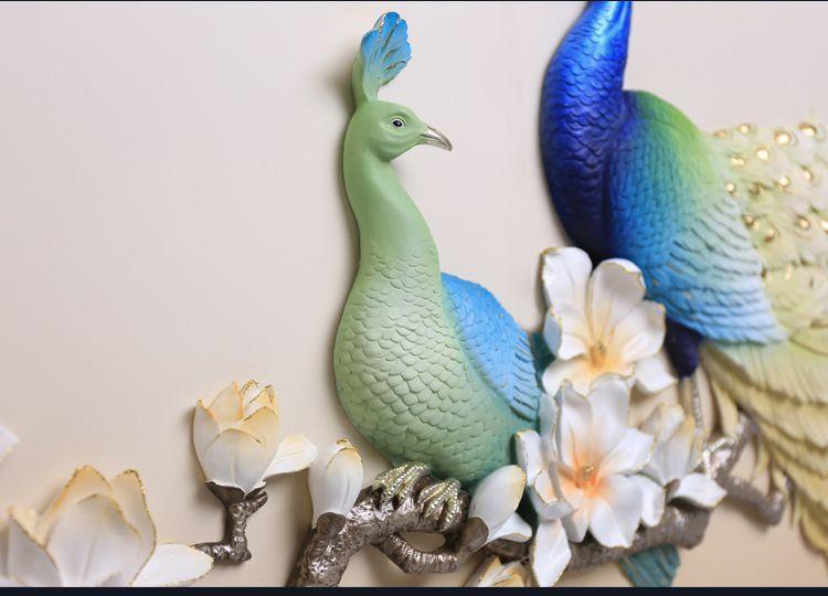 các mẫu tranh chim công đẹp nhất