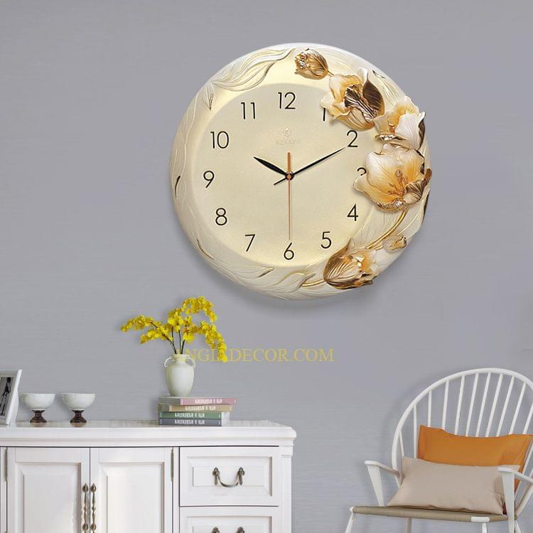 đồng hồ treo tường nghệ thuật giá rẻ angiadecor