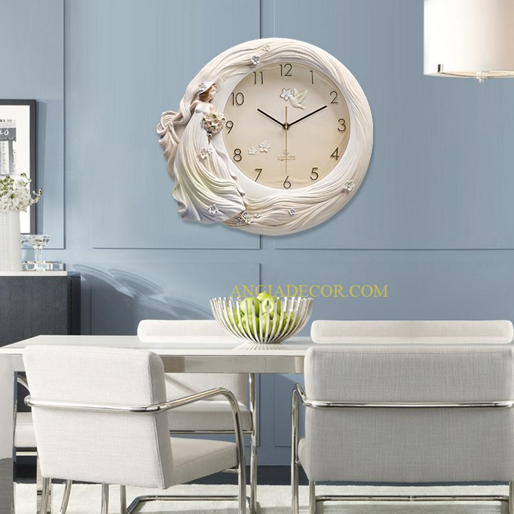 đồng hồ treo tường 3d angiadecor