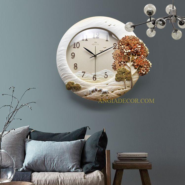 đồng hồ treo tường đẹp tại hải phòng