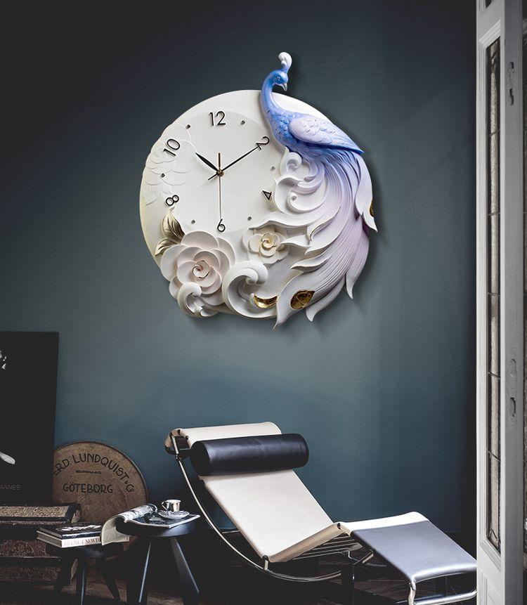 đồng hồ trang trí đẹp quá