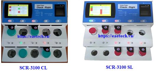 Check right SCR-3100CL /3100SL ( Máy ủ, rã đông kem hàn )