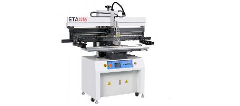 Semi-auto Stencil Printer ( Máy in kem hàn lên bản mạch in dạng bán tự động )