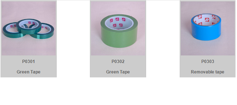GREEN HIGH TEMPERATURE TAPE