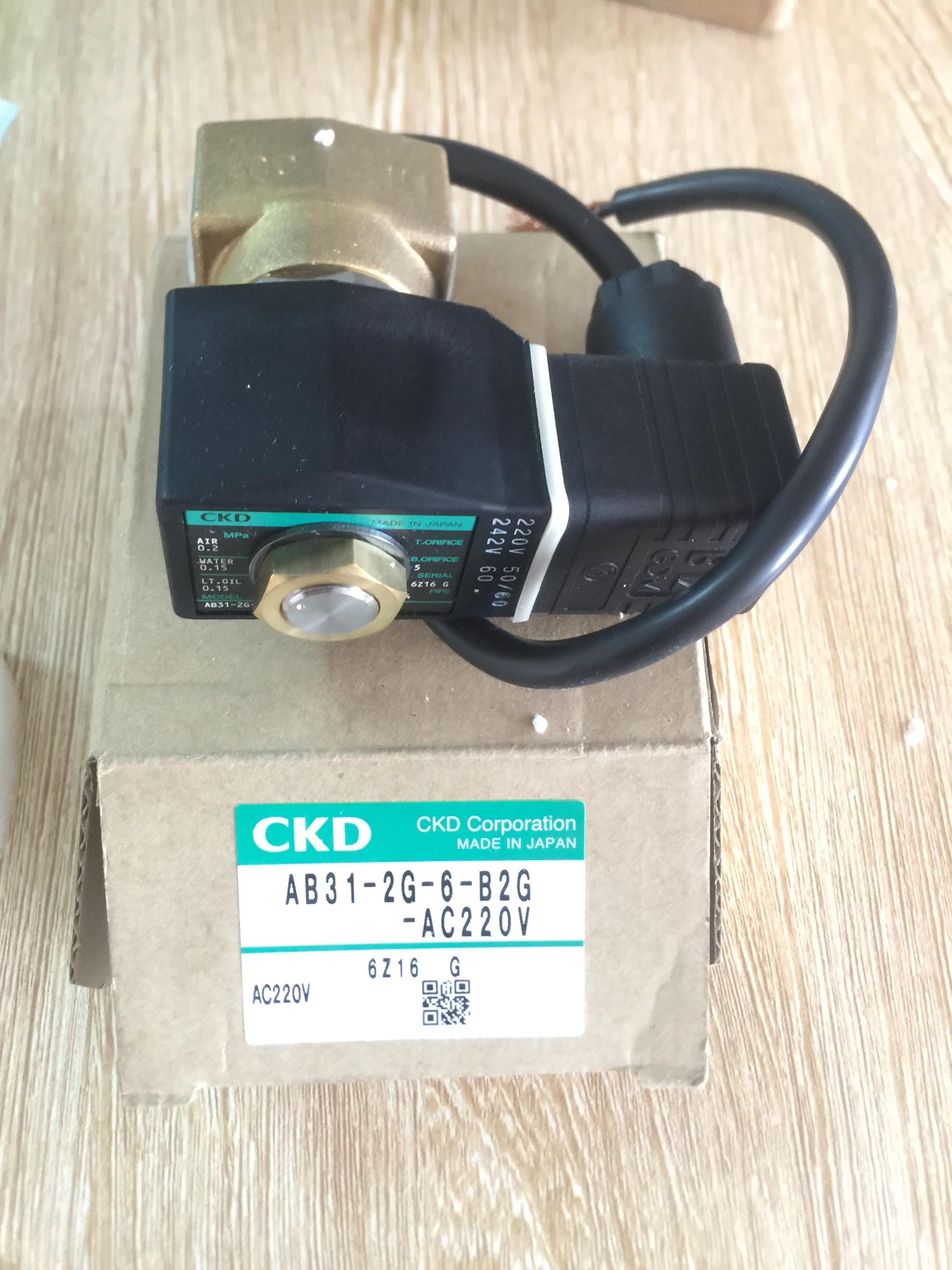 Van điện tử CKD AB31-2G-6-B2G