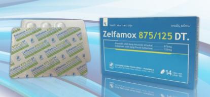 Zelfamox 875/125 DT.
