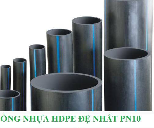 Ống nhựa HDPE Đệ Nhất PN10