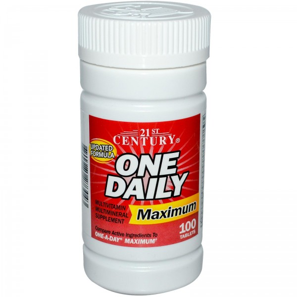 Vitamin Tổng Hợp One Daily Maximum made USA  ( Date 2022)