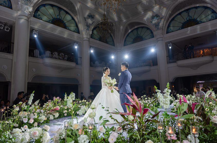 Chụp ảnh phóng sự cưới đẹp ở Hà Nội studio Yêu Media: đôi Tú - Tuyết
