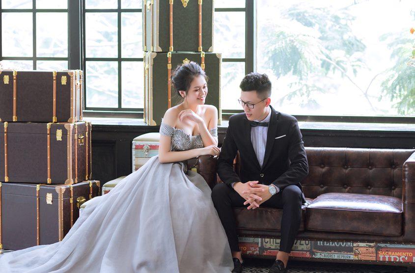 Ảnh cưới phong cách nhẹ nhàng, trong veo mùa 2020: cặp đôi Anh - Anh