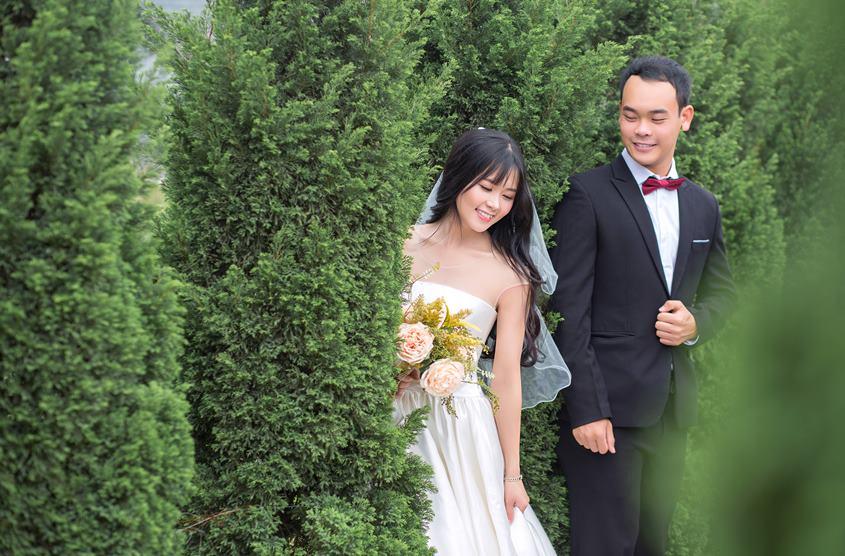 Album hình cưới đẹp nhẹ nhàng tại Yên Sở và Long Biên: cặp Khánh - Ngọc