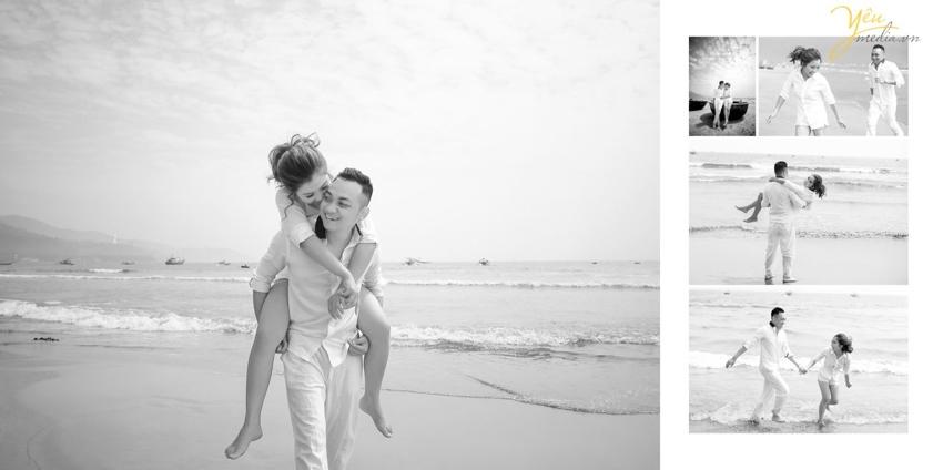 ảnh cưới đẹp tại biển Đà Nẵng