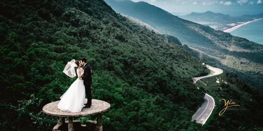Đèo Hải Vân địa điểm chụp ảnh cưới đẹp mê hồn