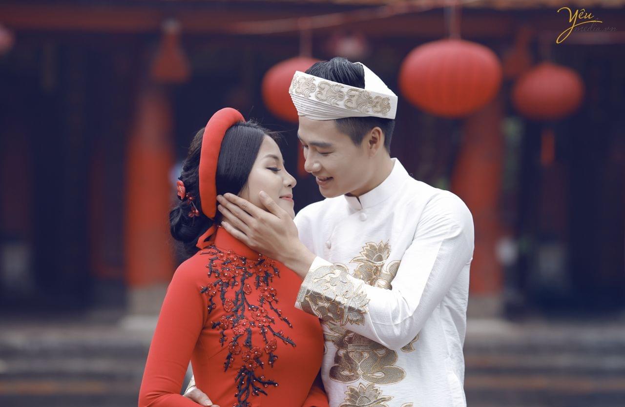 ảnh chụp cưới văn miếu quốc tử giám Hà Nội
