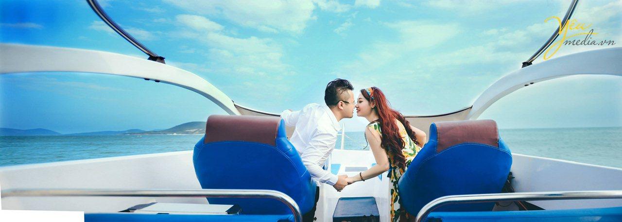 chụp ảnh cưới ngọc sương cam ranh resort