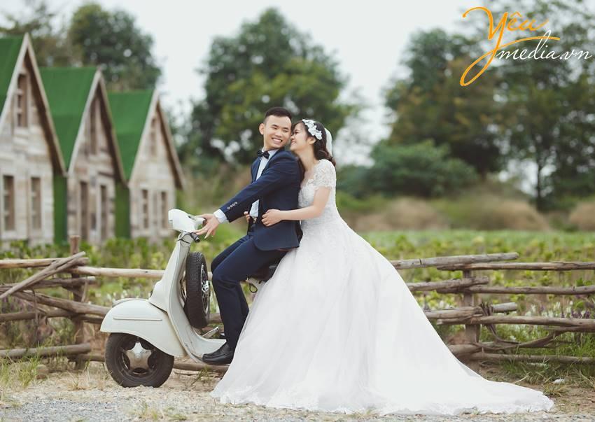 chup ảnh cưới tại Santorini