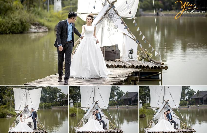 ảnh cưới chụp tại Smiley Ville