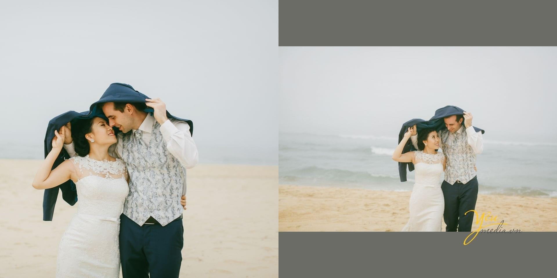 ảnh chụp cưới tại biển
