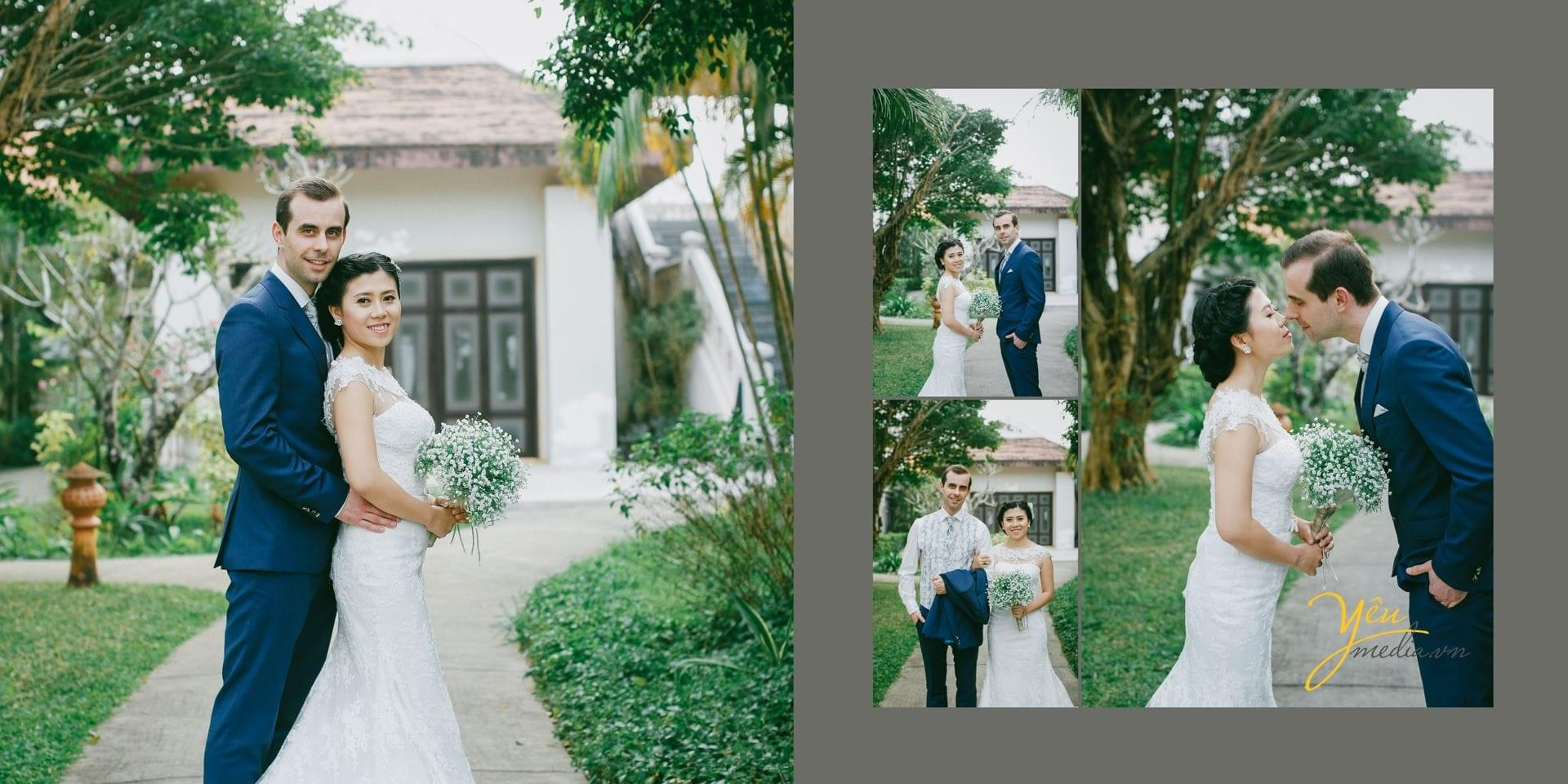 chụp ảnh cưới tại resort