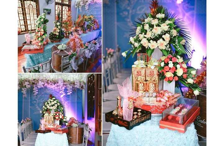 Trang trí đám cưới lung linh mùa giáng sinh 2