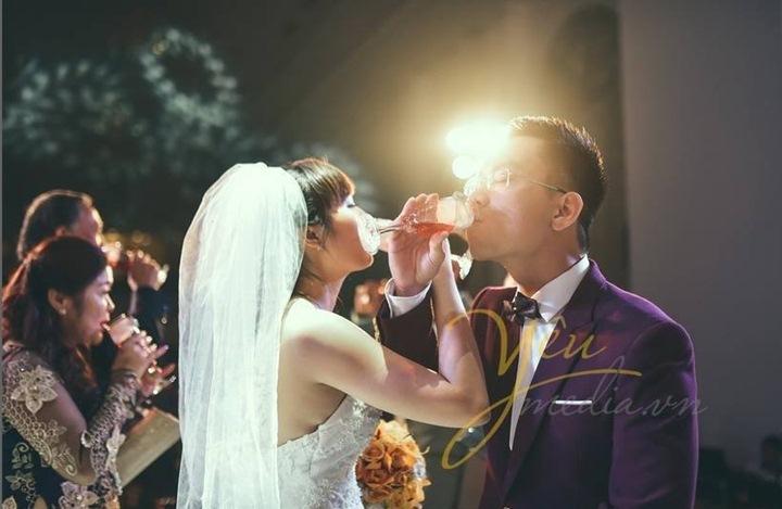 Trang trí đám cưới lung linh mùa giáng sinh