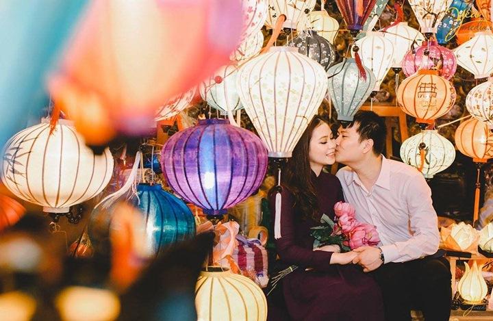Trang trí đám cưới lung linh mùa giáng sinh 3