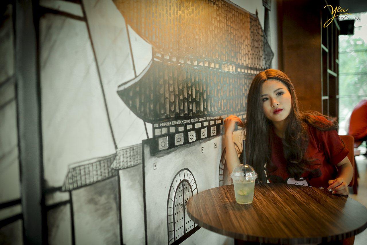 chụp ảnh cưới ở quán cà phê hà nội