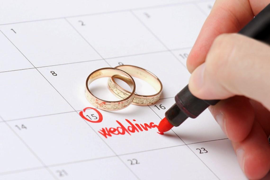 chọn ngày cưới, lấy vợ