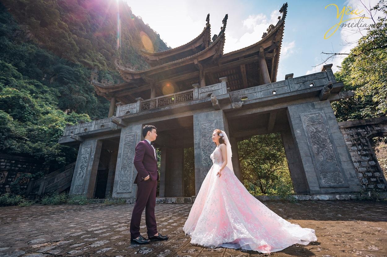 Gói chụp cưới tại Ninh Bình. Tràng An - Tuyệt Tình Cốc - Cổng Tràng An
