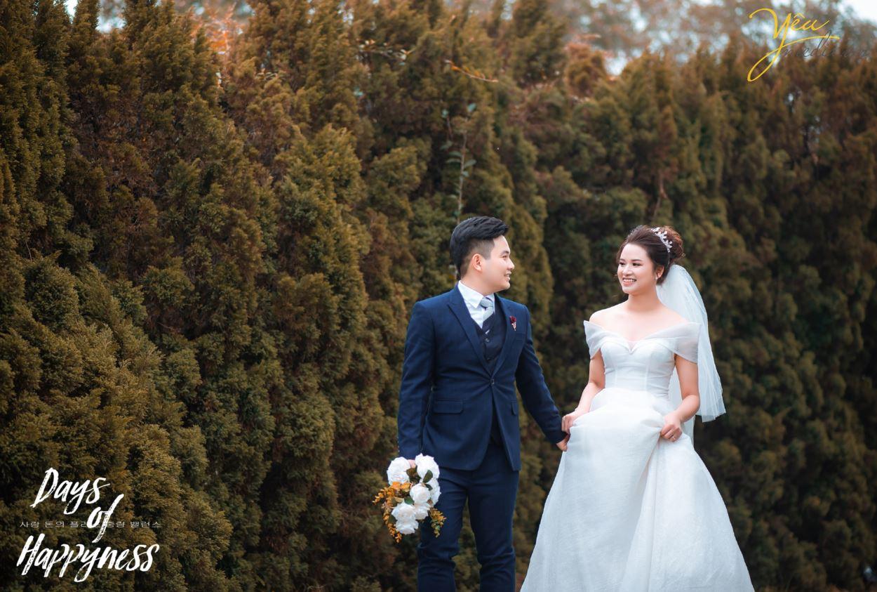 Chụp ảnh cưới tại phim trường hoành tráng nhất Hà Nội Smiley Ville 2020