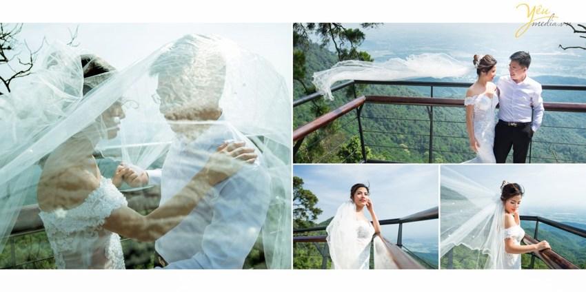 Chụp ảnh cưới đẹp tại Tam Đảo