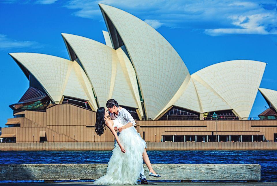 Chụp ảnh cưới tại các kì quan tại Việt Nam