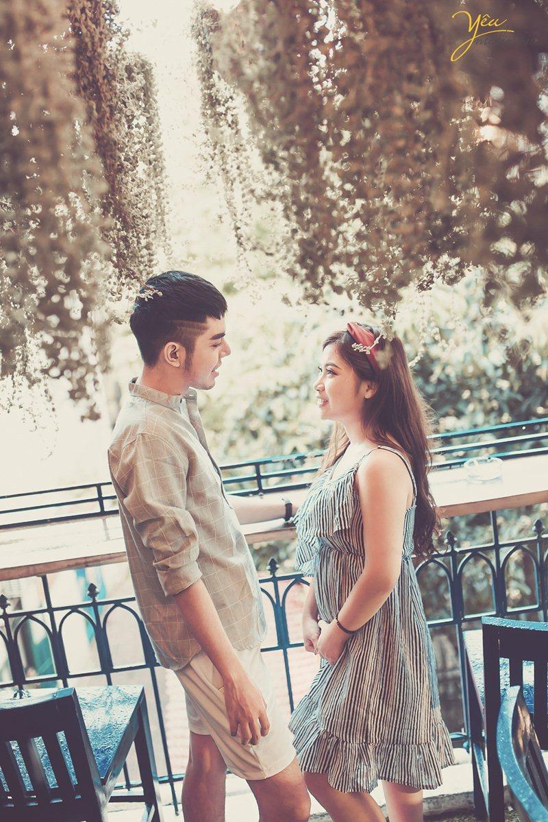 ảnh cưới chụp phong cách street style ở hà nội