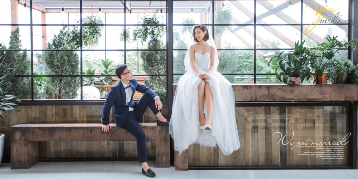 tham khảo phong cách bộ ảnh album cưới chụp đẹp nhất ở hà nội năm 2019 của studio ảnh viện