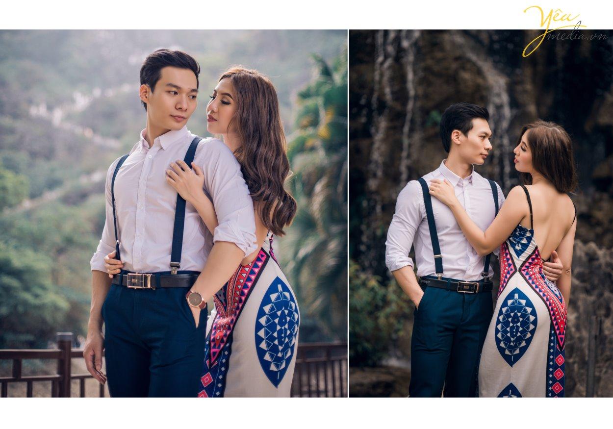Nếu chụp ảnh cưới ở Ninh Bình, bạn sẽ chẳng thể bỏ qua khung cảnh lãng mạn của hoàng hôn đỏ nơi Đầm Vân Long. Vốn nổi tiếng là khu bảo tồn thiên nhiên lớn nhất miền Bắc, đến với nơi đây là bạn đến với một khung cảnh thiên nhiên hoang dã mà nên thơ. Chụp ảnh cưới đẹp nhất ở Động Am Tiên, hang múa, đầm vân long, tam cốc bích động, tỉnh ninh bình , studio yêu media