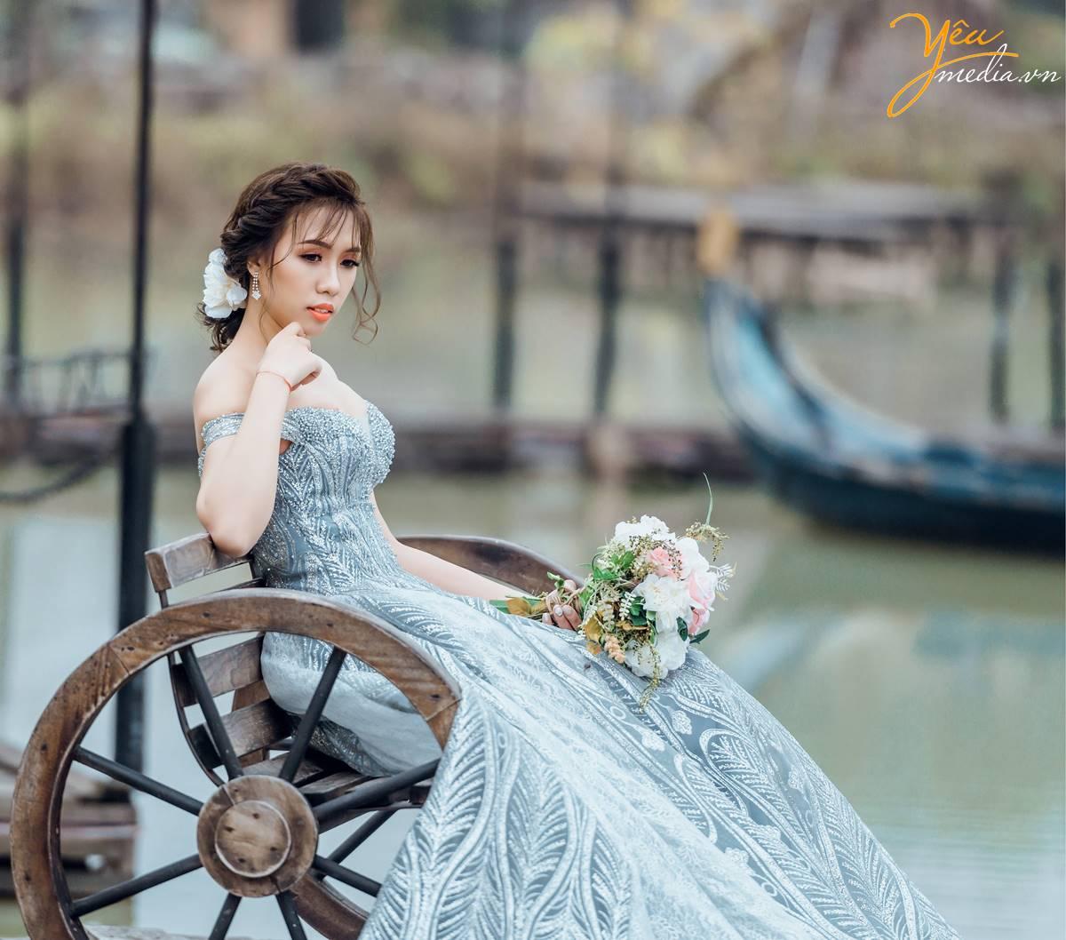 Dịch vụ chụp ảnh cưới ekip chuyên nghiệp tại phim trường Smiley HN