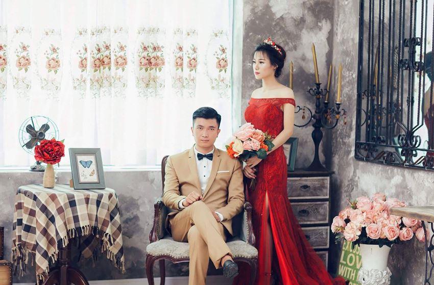 chụp ảnh cưới tại phim trường Vintage