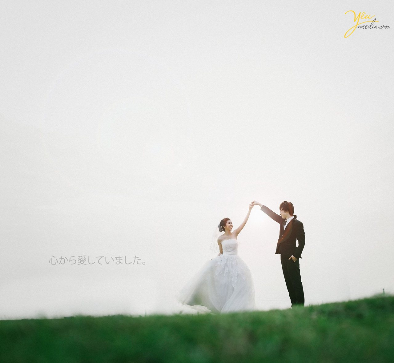 chụp ảnh cưới phong cách nhật bản