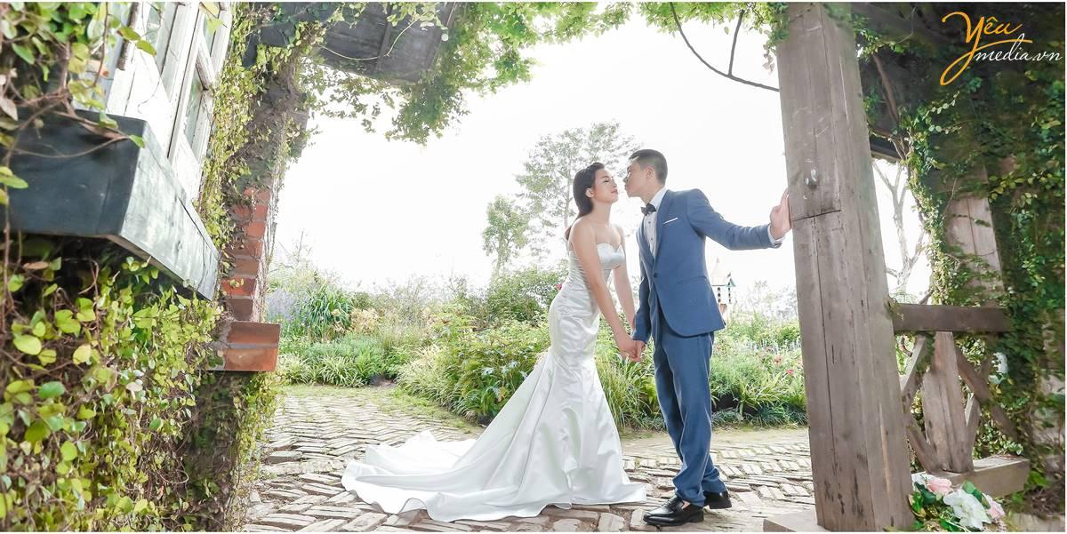 chuẩn bị lấy vợ, chụp ảnh cưới