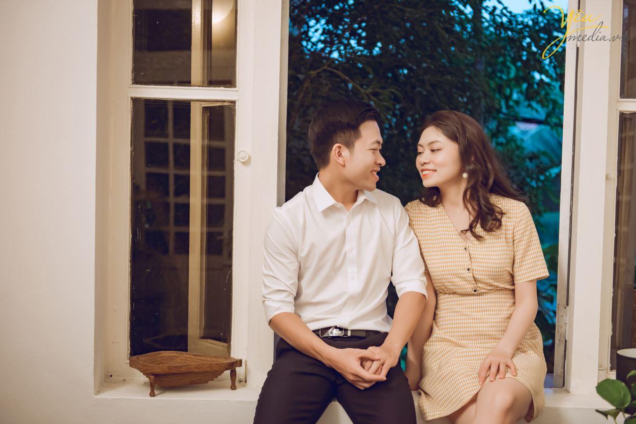 chụp ảnh cưới đẹp ở biệt thự cổ hà nội phong cách châu âu với yêu media
